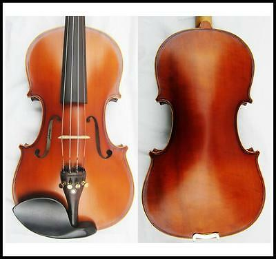 Violin 3/4 Antique Model Labeled Lorenzo Ascoli with Case & Bow Pirastro Strings