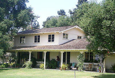 Will Rogers' Home, architectural plans, 2 houses connected by a patio