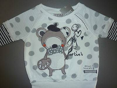NEXT Really Cute Little Girls Bear Sweater NWT