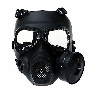 Airsoft Paintball WARGAME COSPLAY Gas Mask Headware Anti-Fog Turbo Fan System
