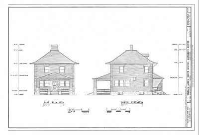 3 bed, 1 bath, brick home, architectural plans, traditional American Craftsman