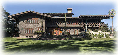 Greene & Greene Gamble House, ultimate Craftsman architectural plans