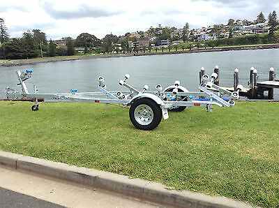 SeaTrail AL5.2M13R, Galvanised Boat Trailer (Suits Boats/Tinnys up to 5.4m)