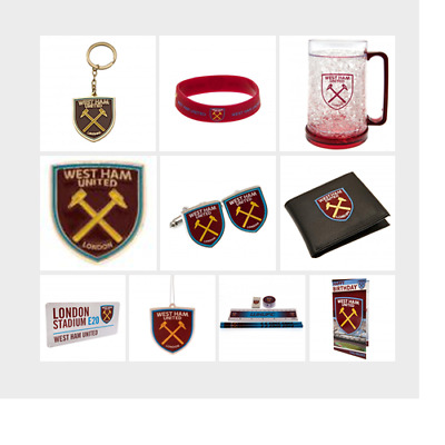 WEST HAM UNITED F.C - Official Football Club Merchandise (Gift, Xmas, Birthday)