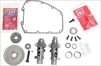 S&S Cycle 585 EZ Easy Start Gear Drive Cams .585 Lift Harley Twin Cam 07-16