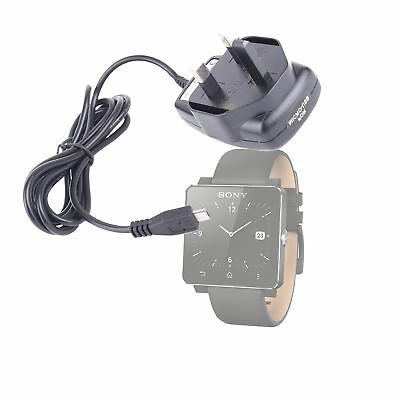 USB Mains Supply Charger For Sony Smartwatch/Smartwatch 2 - CE Certified