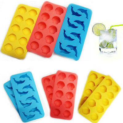 Silicone Ice Tray Cube Pop Up Ice Jelly Told Moulds Party Funny Shape Lolly Cup