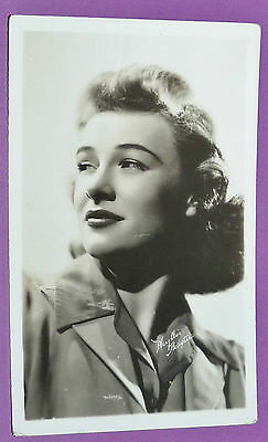 CPA CINEMA CARTE POSTALE PHOTO 1950's PHYLLIS THAXTER HOLLYWOOD ACTRICE