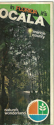 Vintage Brochure for Ocala Florida