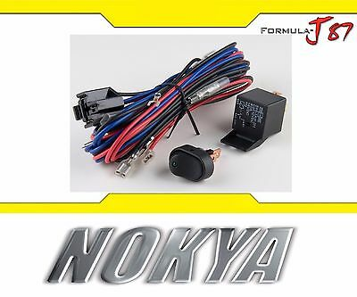 Nokya Switch Toggle Red Nok9547 LED HID Halogen Light Bulb Lamp Control Add-On