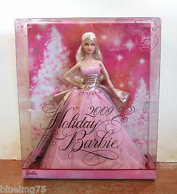 2009 Holiday Barbie Pink Gold 50th Anniversary NRFB (Z139)