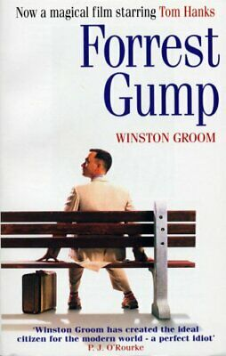 Forrest Gump, Groom, Winston Paperback Book The Cheap Fast Free Post
