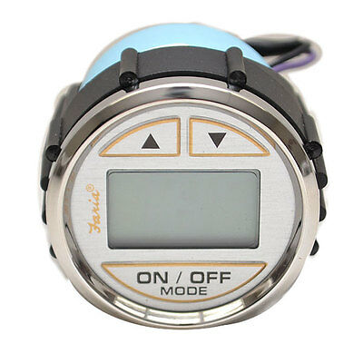 Faria Ds0131A Kronos Silver Boat Depth Finder Gauge