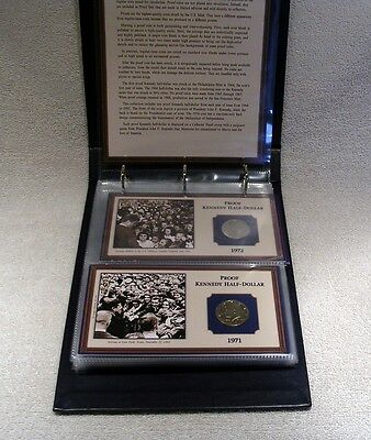 Kennedy Proof Quality Half Dollars -  Postal Commemorative Society Collection