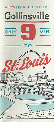 Vintage Brochure for Collinsville Illinois