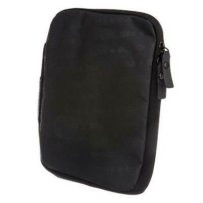 DC Shoes Tabster Tablet Case In Black - Double Zipper Closure - Protects Tablets