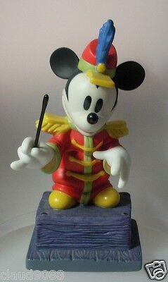 "Walt Disney Classics ""from The Top"" Mickey Mouse  41277 Mint In Box & Reduced"
