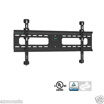 Super Flat Low Profile Ultra Slim LCD LED Plasma TV Wall Mount Bracket No Tilt