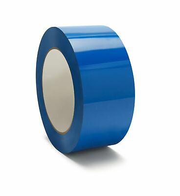 "12 Rolls Blue Color Tape Packing Carton Sealing Tape 2"" x 110 Yds 2 Mil"