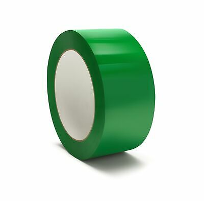 "12 Rls Green Color Packing Tape Carton Sealing Shipping Tapes 2"" x 110yds 2 Mil"