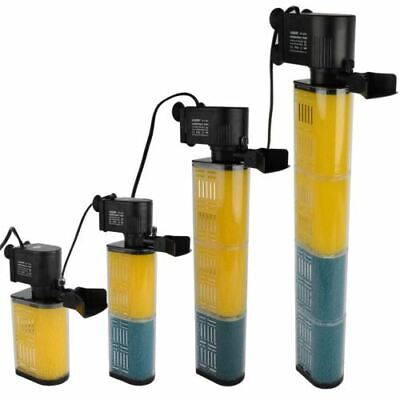 Hidom Submersible Aquarium Internal Pump & Filter Filtration Fish Tank 100-350l