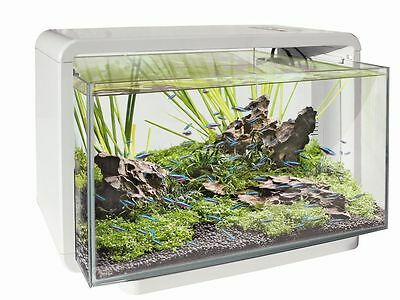 SF maison 25 Aquarium Blanc nanobecken