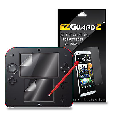 4X EZguardz Screen Protector Shield 4X For Nintendo 2DS (Ultra Clear)