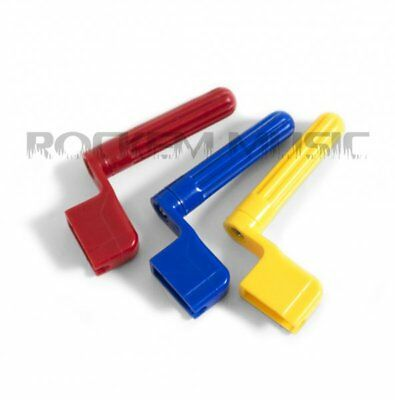 Guitar String Winder With Bridge Pin Remover Various Colours