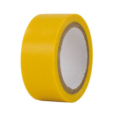 Demon Tweeks Durable Insulating/Electrical Tape - Yellow -19mm Wide x 4.5m Long