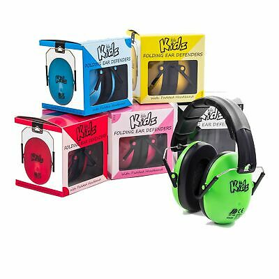 EDZ Kidz Child/Children's/Toddler/Kids Noisy Event Ear Defenders/Protectors