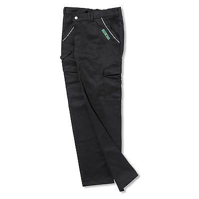 Sparco Cargo Multi Pocket Black Trousers - Track / Motorsport / Rally / Racing