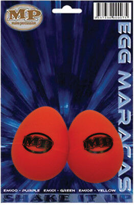 MANO PERCUSSION Maracas Egg Shaped Red 20g, Pair *NEW* Education