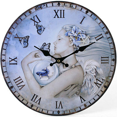 Tranquility Round Wall Clock, Christmas. Birthday. Gift.