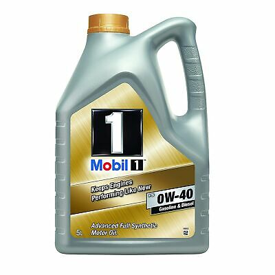 Mobil 1 FS 0W-40 Fully Synthetic Engine Oil - For Petrol Diesel Engines