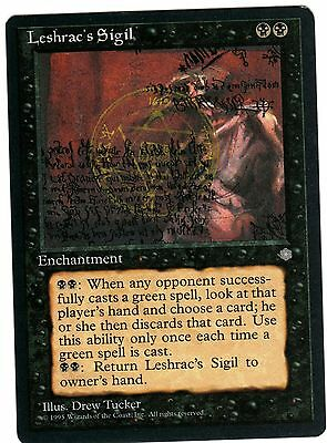 Leshrac's Sigil - Sigillo di Leshrac 1x carte Magic (ENGLISH CARD) Ice Age EXC
