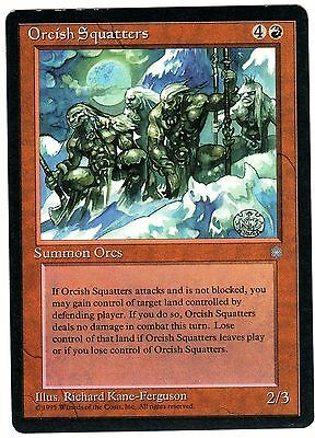Orcish Squatters 1x carte Magic (ENGLISH) Ice Age EXC