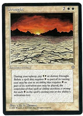 Siccità - Drought 1x carte MAGIC (ENG, ITA cards) ICE AGE