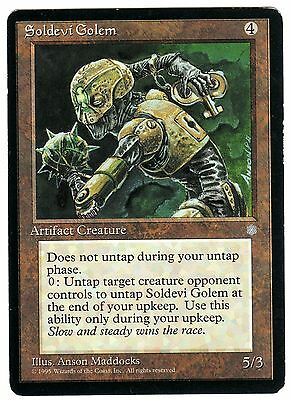 Soldevi Golem 1x carte Magic (ENGLISH) Ice Age NM-EXC