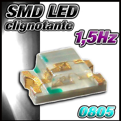 SMD orange 151//25# LED orange CMS 0805 25 pcs