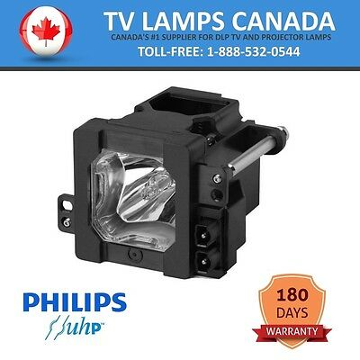 JVC TS-CL110 | TS-CL110U | TS-CL110UAA Philips Replacement TV Lamp with Housing