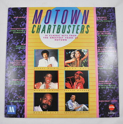 LP: Motown Chartbusters - 20 Classic Hits from the Greatest Years of Motown