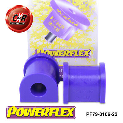 TVR T350 Powerflex Front Anti Roll Bar Bushes 22mm PF79-3106-22