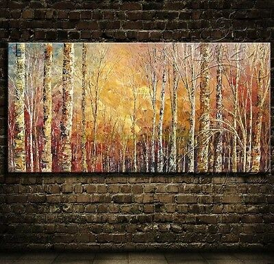 MODERN ABSTRACT WALL ART OIL PAINTING ON CANVAS(no frame) X603