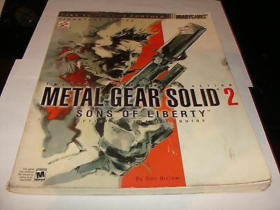 Metal gear solid 2 sons of liberty official strategy guide.