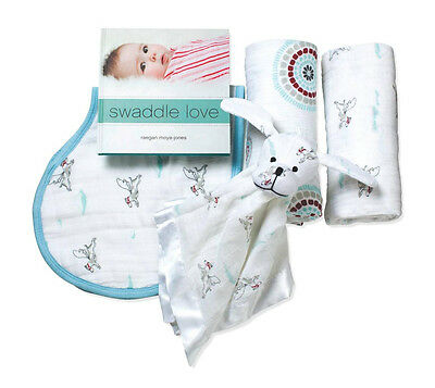 """Aden and Anais Liam the Brave New Beginnings Gift Sets New """"Perfect Gift"""""""