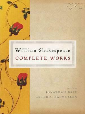 The RSC Shakespeare: The Complete Works by William Shakespeare Paperback Book Fr