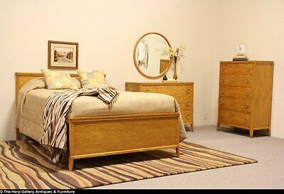 Midcentury Modern Full Size Vintage 3 Pc. Bedroom Set