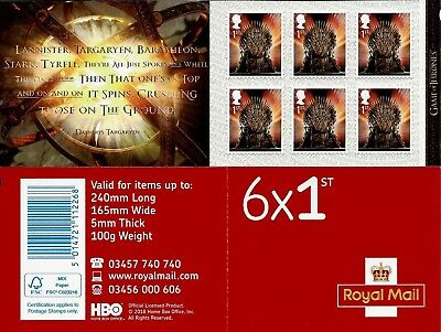 Gb Booklet Mint Pm36 To Pm47 Qa5 6 1St Class Multiple Listing Self Adhesive Mnh