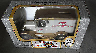 ERTL 1923 Chevrolet IGA Hometown Proud Truck Bank NIB  LOOK