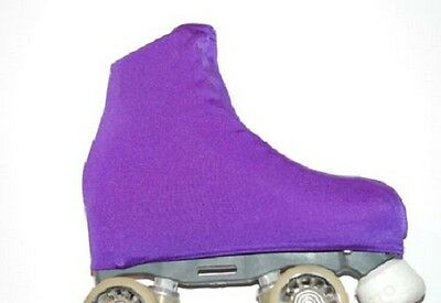 Boot covers, Figure ice roller skating Purple girls ladies, sport boot cover NEW